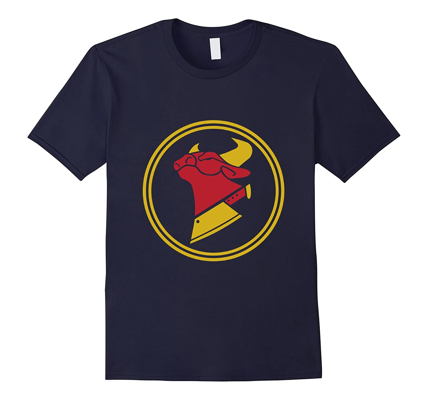 Cow Chop Logo Shirt-BN