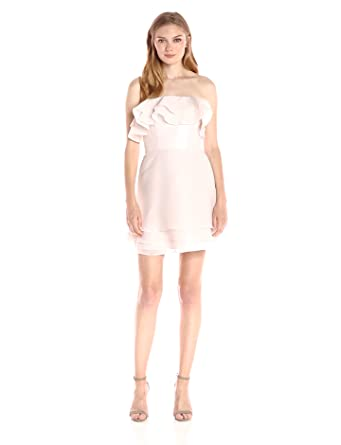 c50daf01eb3e Keepsake The Label Women's Float Mini Dress, Oyster XS at Amazon ...