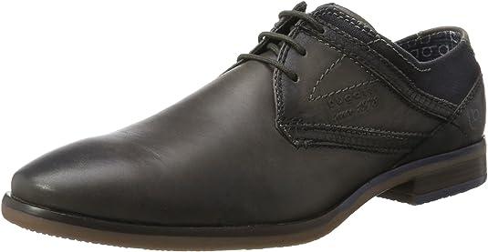 bugatti 312167033569, Zapatos de Cordones Derby para Hombre