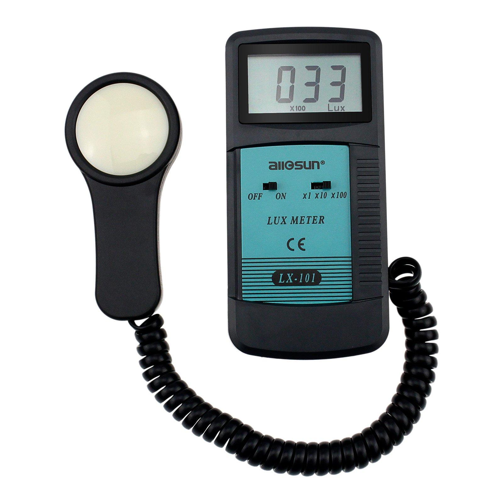 all-sun Digital Lux Meter Light Meter Photometer