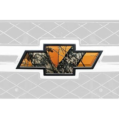 Mossy Oak Graphics 14010-BZ Blaze Auto Emblem Skin: Automotive