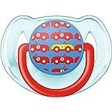 飞利浦 AVENT 新安怡 时尚 安抚奶嘴 1个装(6-18个月男宝)(产地:英国)(图案随机发货) SCF172/14