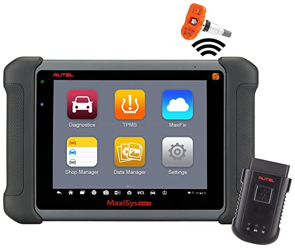 Autel MS906TS can perform both basic and advanced OBD2 diagnostic functions.