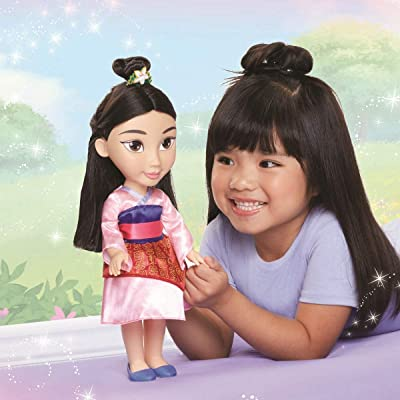 Disney Princess Mulan Toddler Doll: Toys & Games