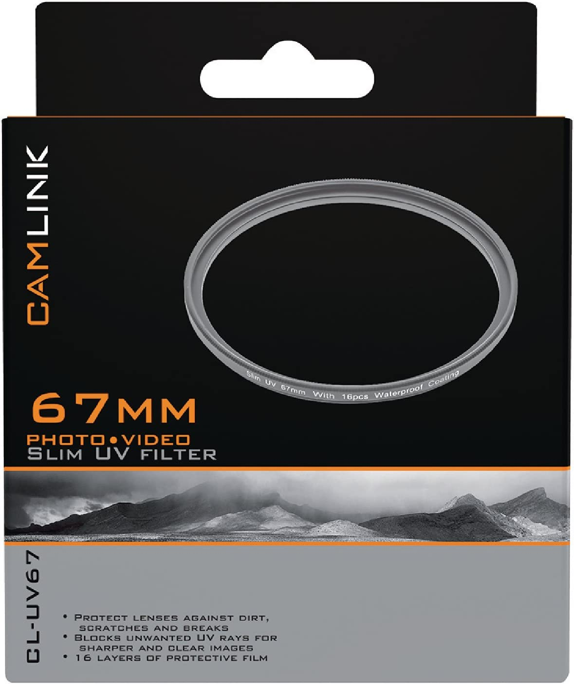 Camlink CL UV67/ Slim UV Filter 67/ mm