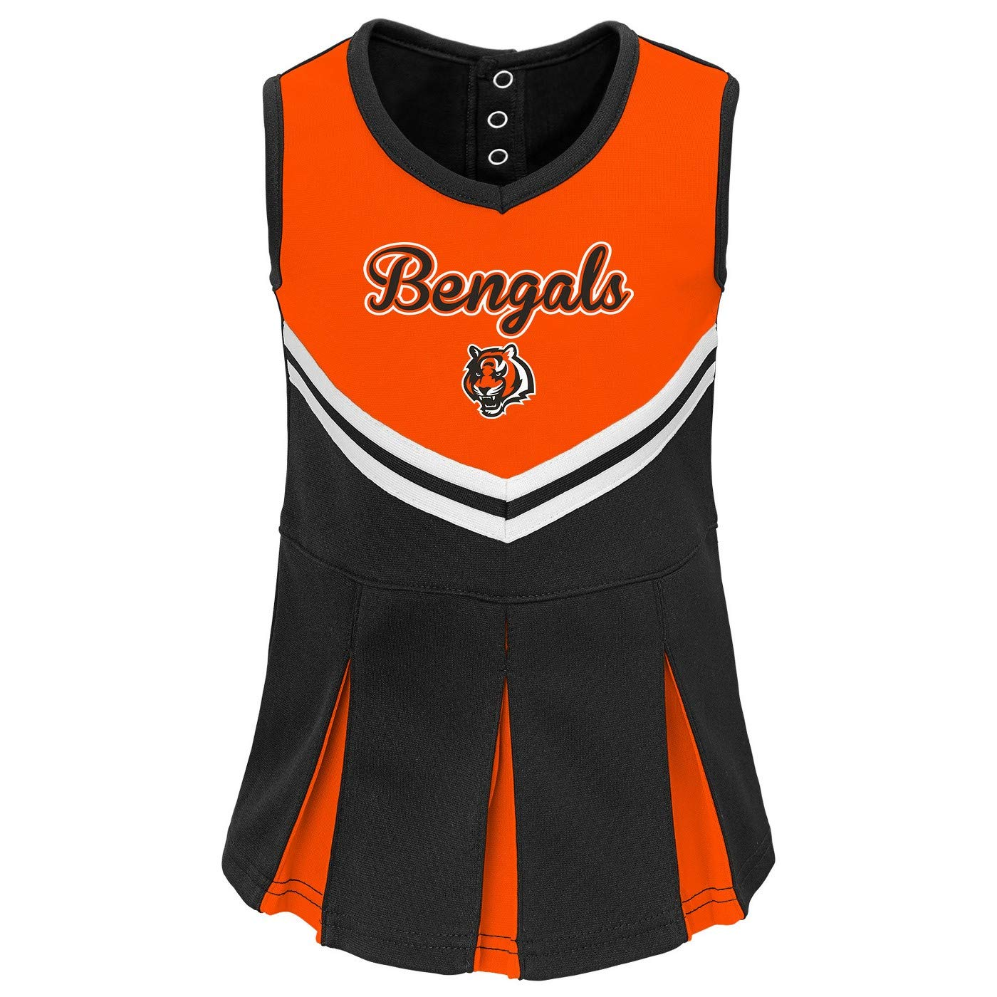 Cincinnati Bengals Toddler Girls in The Spirit Cheer Set