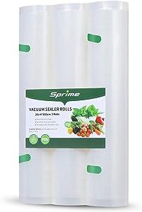 Vacuum Sealer Bags 3 Rolls 8