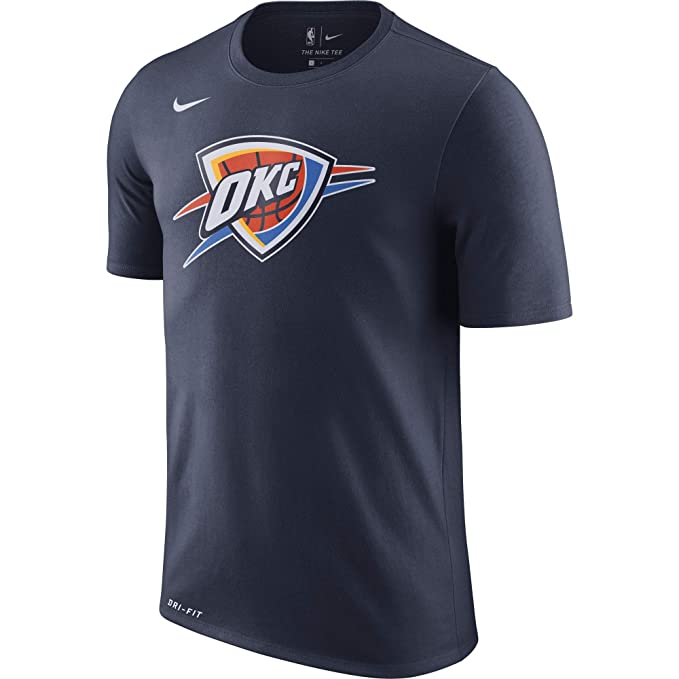 Nike NBA Oklahoma City Thunder Russell Westbrook Carmelo Anthony Paul George 2017 2018 Dry Logo Official, Camiseta de Hombre: Amazon.es: Ropa y accesorios