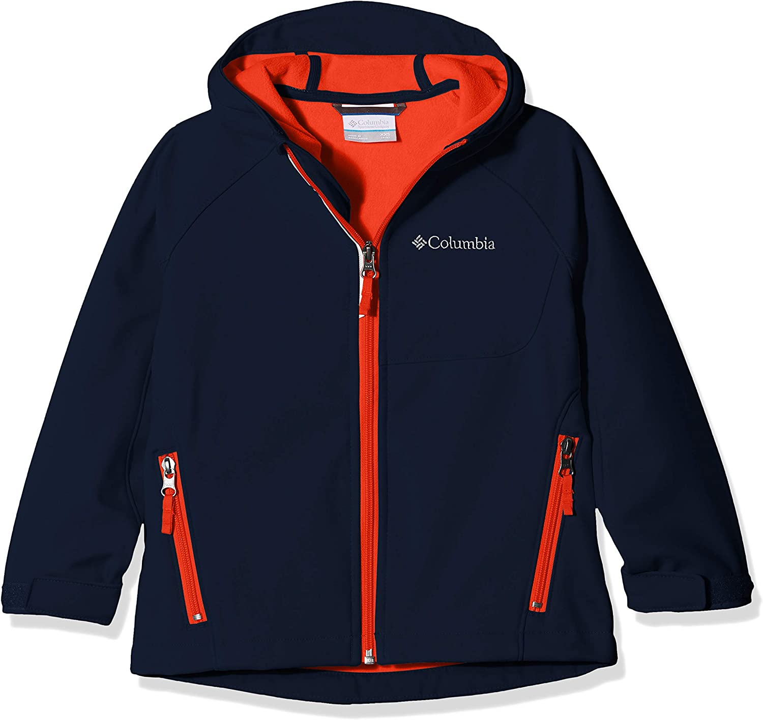 XS Nocturnal Heather Ni/ñas Azul Columbia Nordic Strider Chaqueta De Invierno
