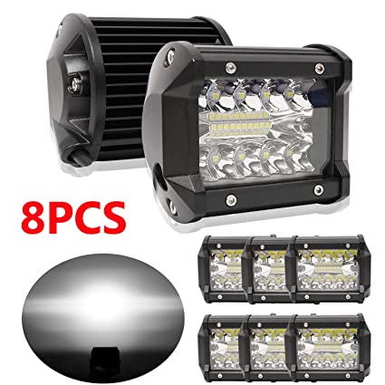 4inch 18W LED Work Light Spot Cube Pods Off-road For Nissan Titan 3/'/' 2pcs Set