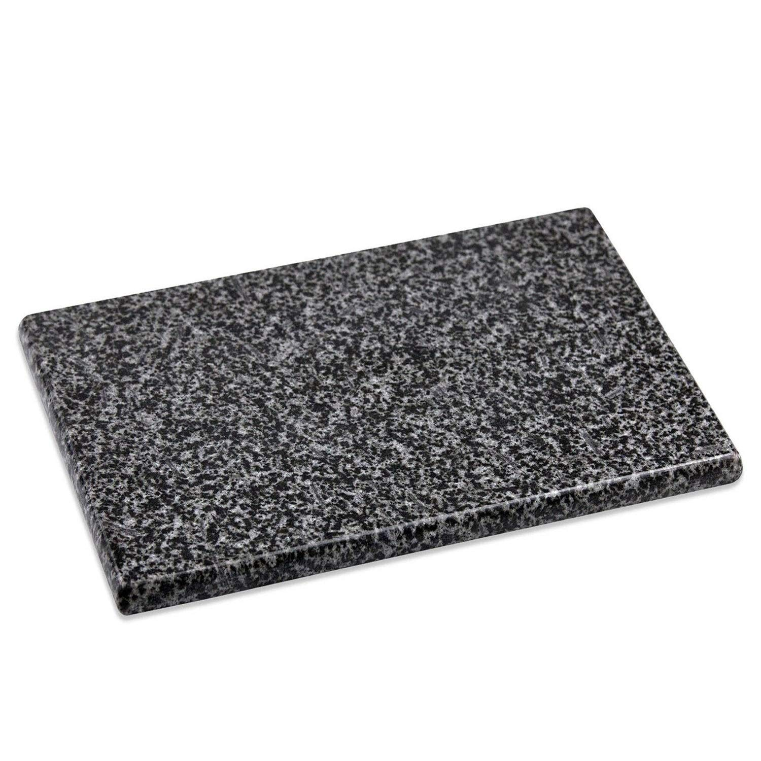 Granite Cutting Board Black Rectangle Stone
