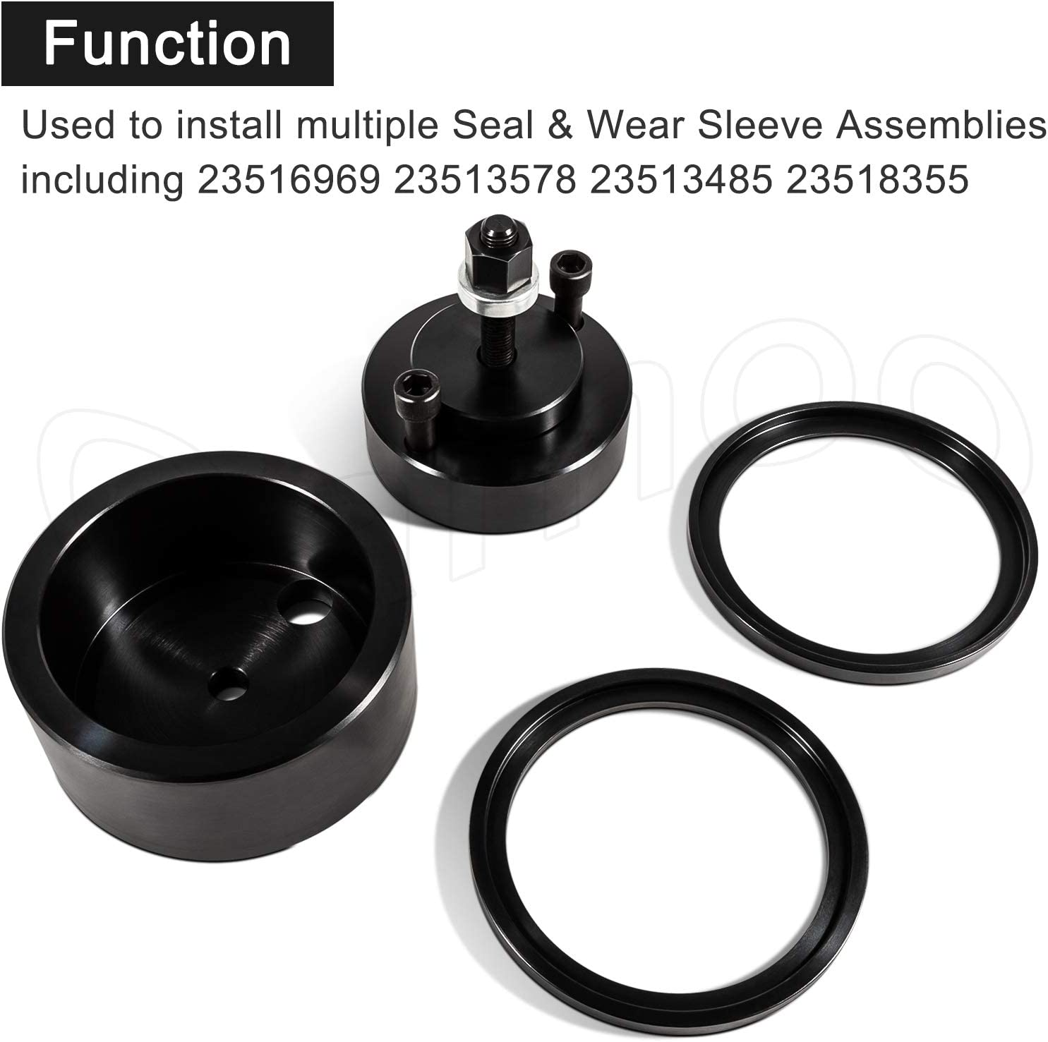 Bonbo J-35686-B Front /& Rear Crankshaft Seal and Wear Sleeve Installer for Detroit Diesel Series 60 Two Cycle 92 Engines