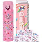YOFUN Create Your Water Bottle with Tons of Rhinestone Gem Stickers - Craft Kit & DIY Art Set for Children, Gift for…