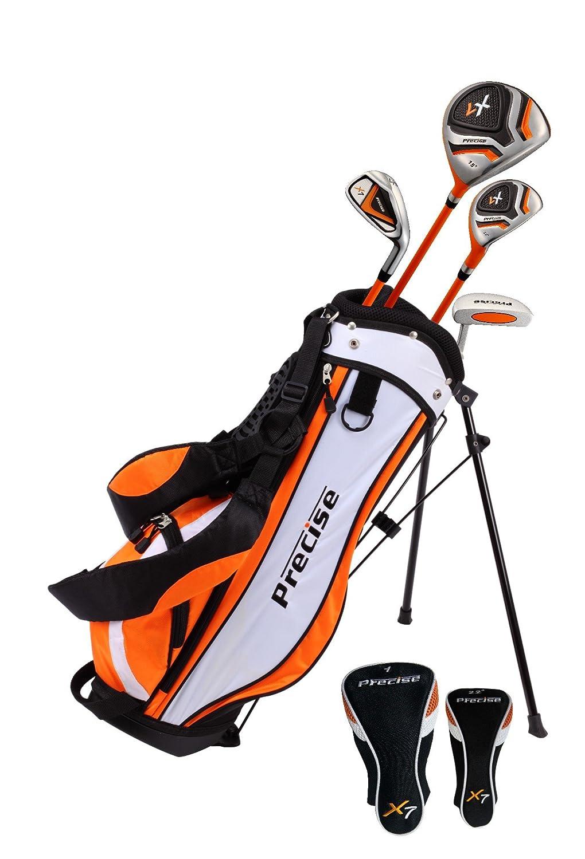 トップパフォーマンスプレミアムジュニアゴルフクラブセットfor Age 3 – 5、右、ボーイズ、ガールズ手&左 LH オレンジ B07CCYWBSG オレンジ LH
