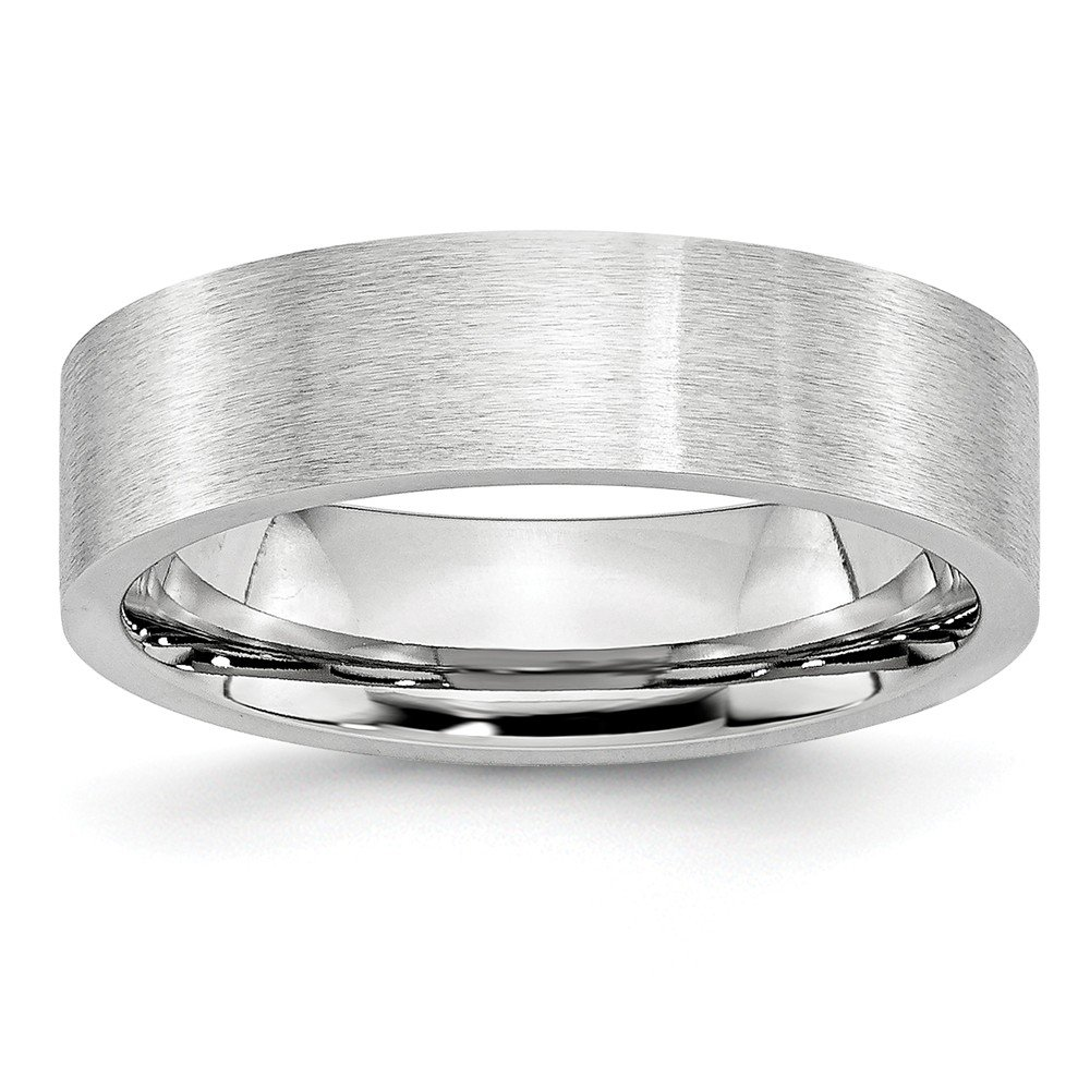 Jewels By Lux Cobalt Flat Satin 6mm Band