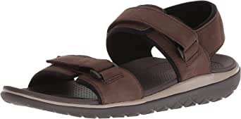 206 Collective Men's Greenlake Double Band Velcro Sandal