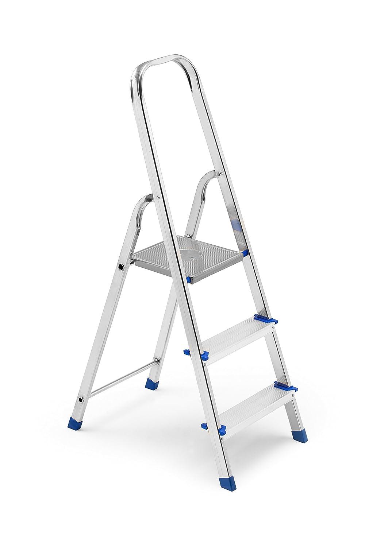 Framar Europiuma 3 Escalera Doméstica de Aluminio, 3 Peldaños: Amazon.es: Industria, empresas y ciencia