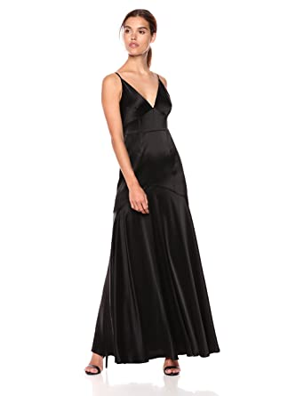 dc6e73d085e7 Jill Jill Stuart Women s Satin Gown with Corset Detailing Special Occasion  Dress  Amazon.co.uk  Clothing