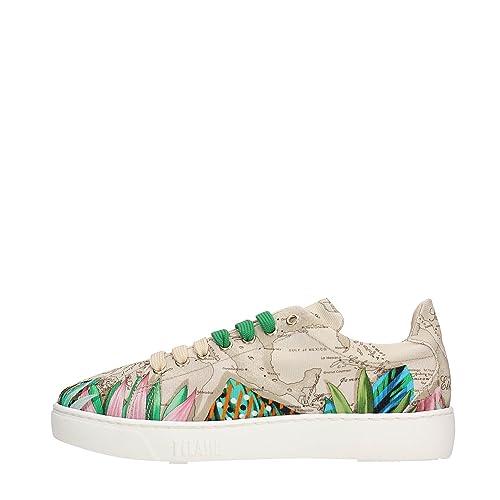 ALVIERO MARTINI LMP554 9446 Sneakers Donna Beige 40  Amazon.it  Scarpe e  borse efe2aec9f9b