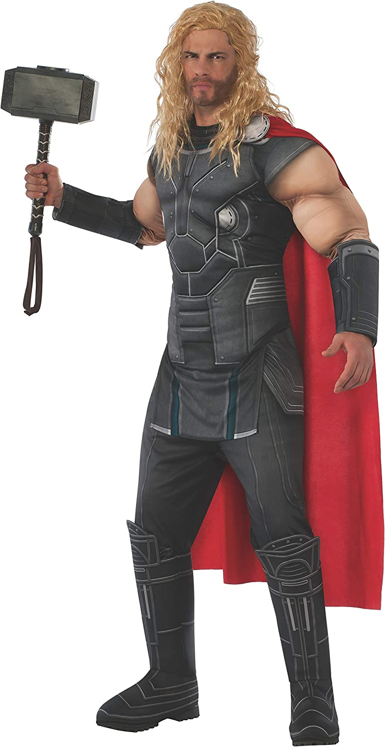 Thor Hammer Avengers Marvel Superhero Adult Mens Costume Weapon