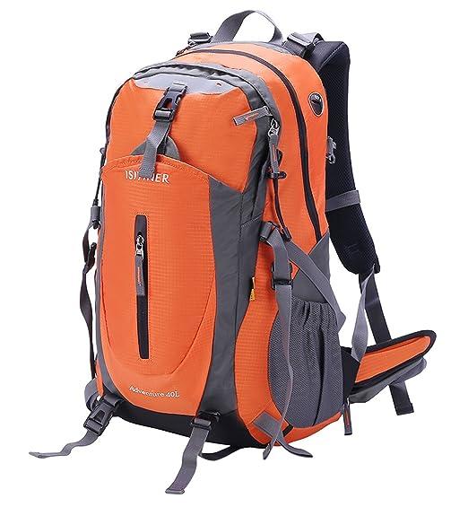2 opinioni per ISIYINER 40L Zaino Trekking Sportivo Outdoor Zaino Casual Zaino Sacchetto Zaino