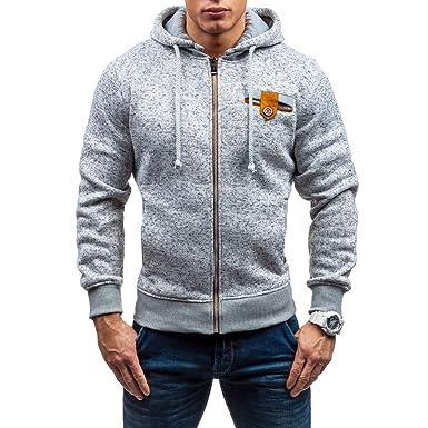 Clearance Sale  S-2XL  ODRDღ Hoodie Männer Sweatshirt Sweater Mantel  Windbreaker Hooded Herren f4e15361f8