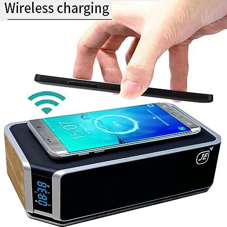 Qi - Cargador inalámbrico (inductivo) + Bluetooth® CSR 4.0 ...
