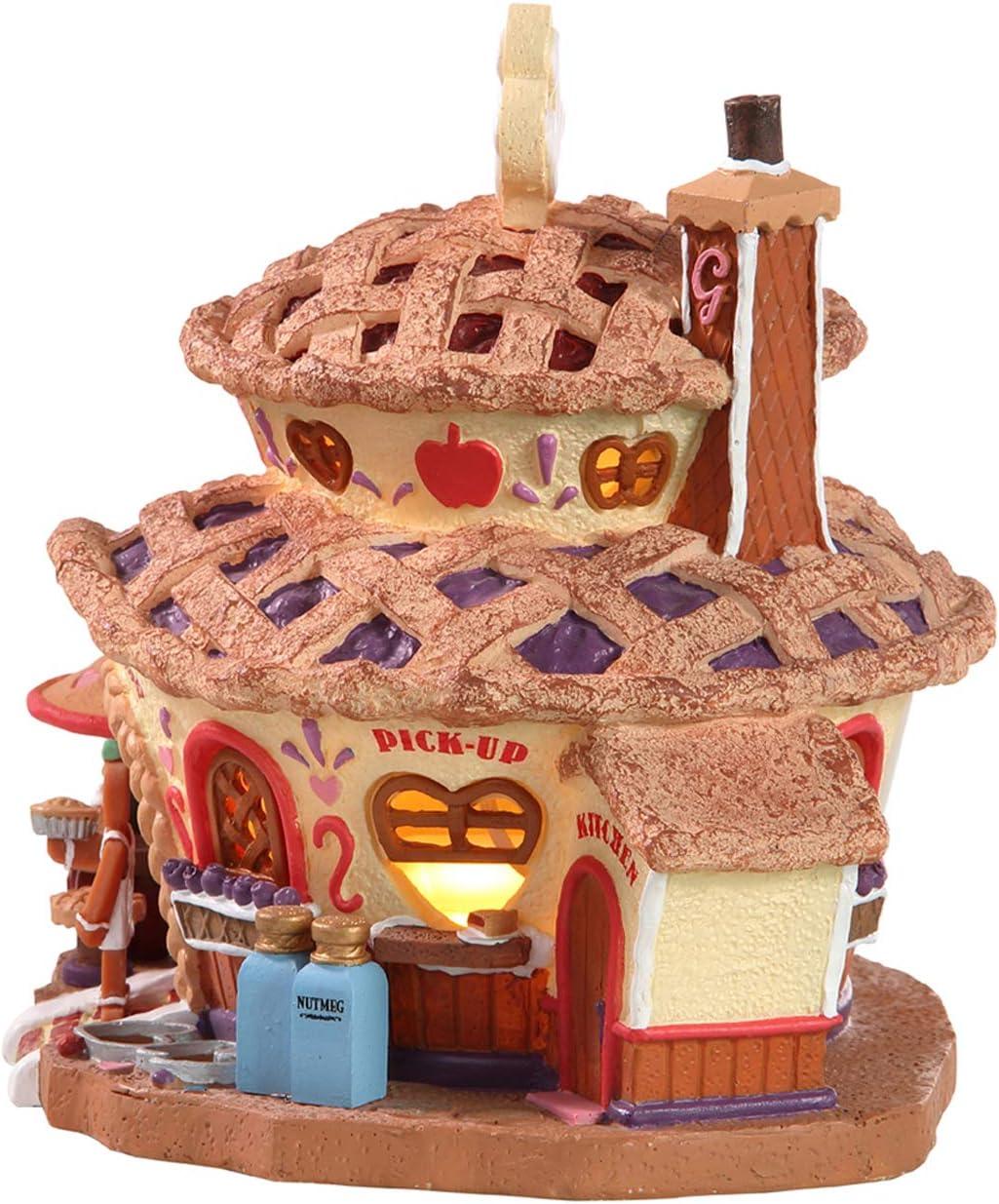 Weihnachtsdorf Haus Beleuchtetes Ingwer-Kuchen Gesch/äft NEU 2019 Lemax 85437 Gingers Pie Shop Sugar N Spice