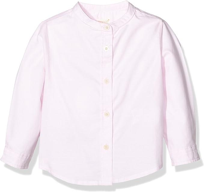 Gocco Camisa Oxford Mao, Rosa BEBÉ, 1-2 años para Niños: Amazon.es: Ropa y accesorios