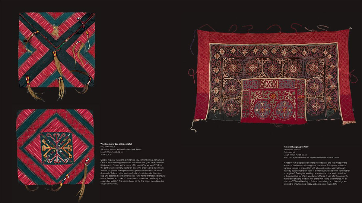 Textiles of the Middle East and Central Asia: The Fabric of Life by THAMES HUDSON (Image #7)