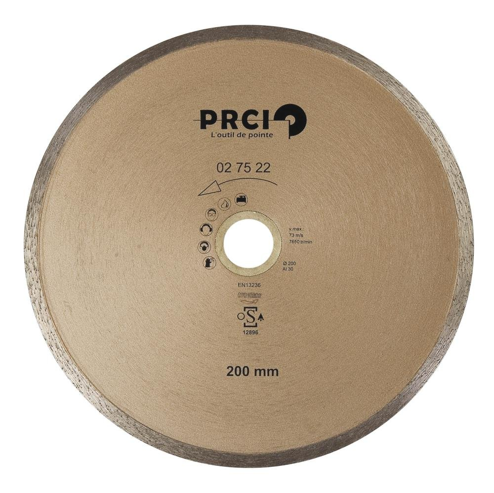 PRCI 02/75/22/Diamond Blade with Reduction Rings Included Beige 200/mm