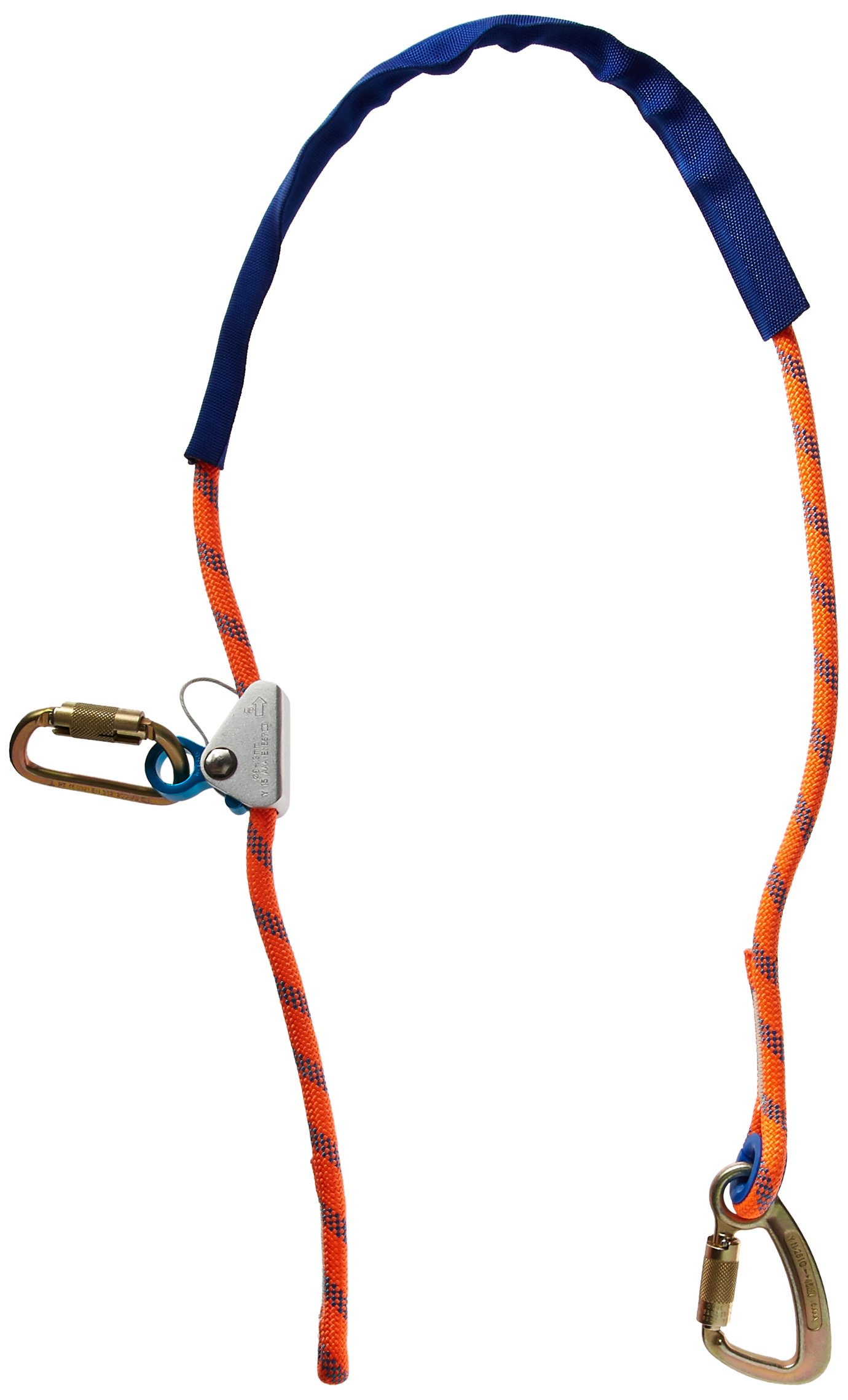 Elk River 34496 1/2'' by 6' Quick Adjustable Rope Positioning Lanyard
