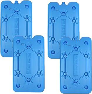 NEMT Lot de 4 accumulateurs de Froid Plats 400 ML 25 x 14 x 1,4 cm