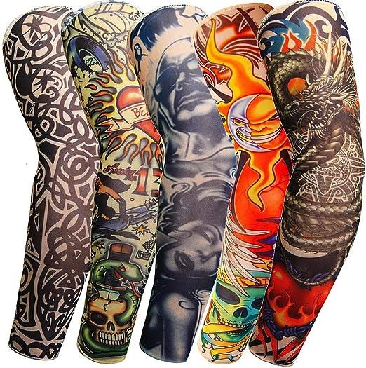 Koojawind Crema Solar Tatuaje Temporal Mangas Body Art Brazo ...
