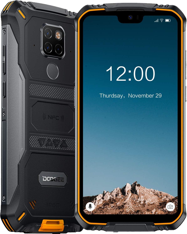 DOOGEE S68 Pro Android 9.0 Teléfono Móvil Libre Resistente 4G ...