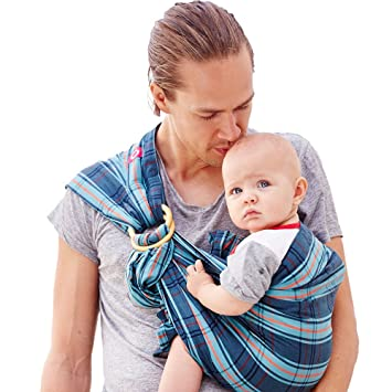 Amazon Com Mamaway Ring Sling Baby Wrap Carrier For Infant