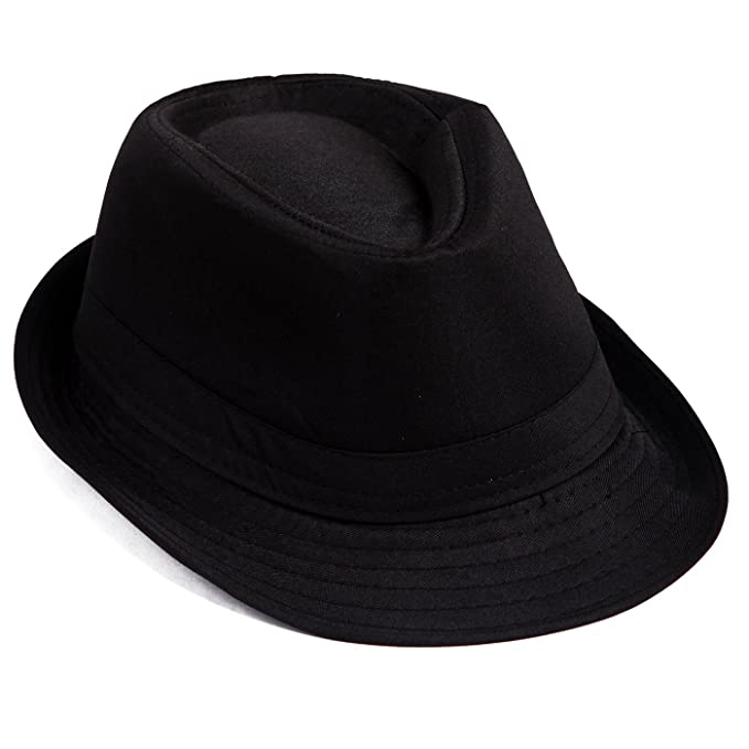 1930s Childrens Fashion: Girls, Boys, Toddler, Baby Costumes Kids Short Brim Trilby Fedora Hat $9.99 AT vintagedancer.com