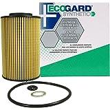 ECOGARD S5848 Cartridge Engine Oil Filter for Synthetic Oil - Premium Replacement Fits Hyundai Genesis, Veracruz, Santa Fe, Genesis Coupe, Sonata, Equus, Azera, Entourage / Kia Sedona, Sorento