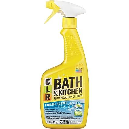 Amazon Com Clr Bathroom Kitchen Cleaner Home Kitchen