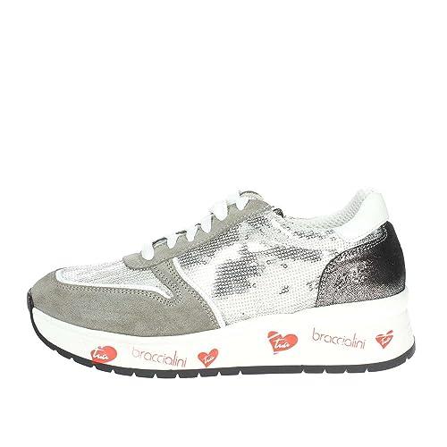 best sneakers 21c36 2284d Braccialini IT 4 Sneakers Donna: Amazon.it: Scarpe e borse