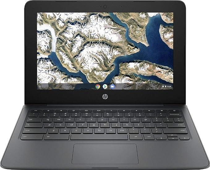 "Amazon.com: HP - 11.6"" Chromebook - Intel Celeron - 4GB Memory - 32GB eMMC Flash Memory - Ash Gray: Computers & Accessories"