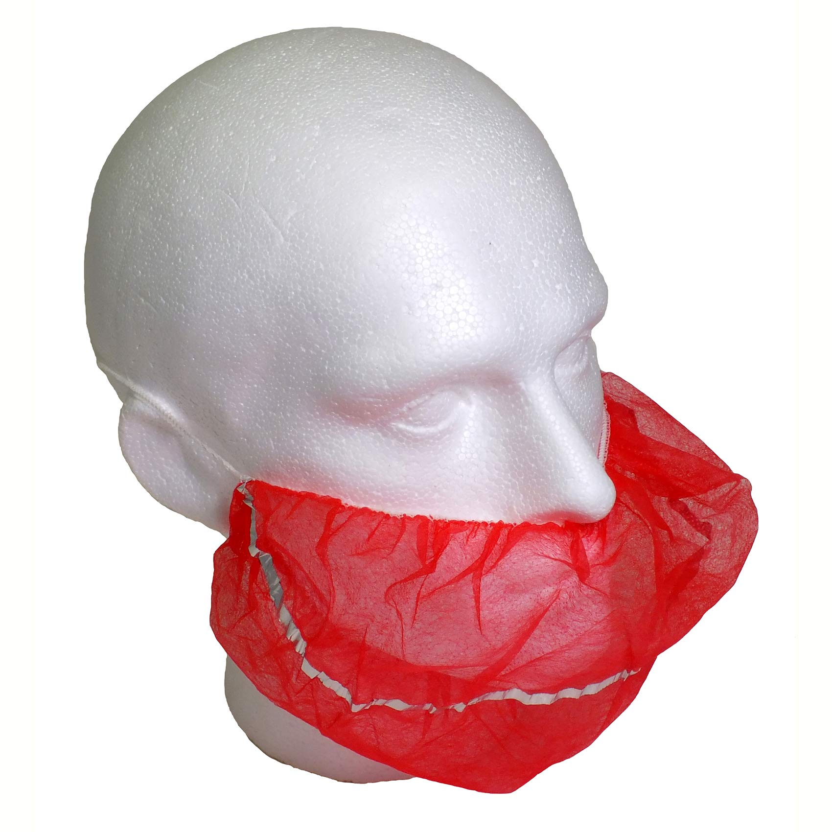 Detectable Non Woven Beard Cover Blue Pack 500