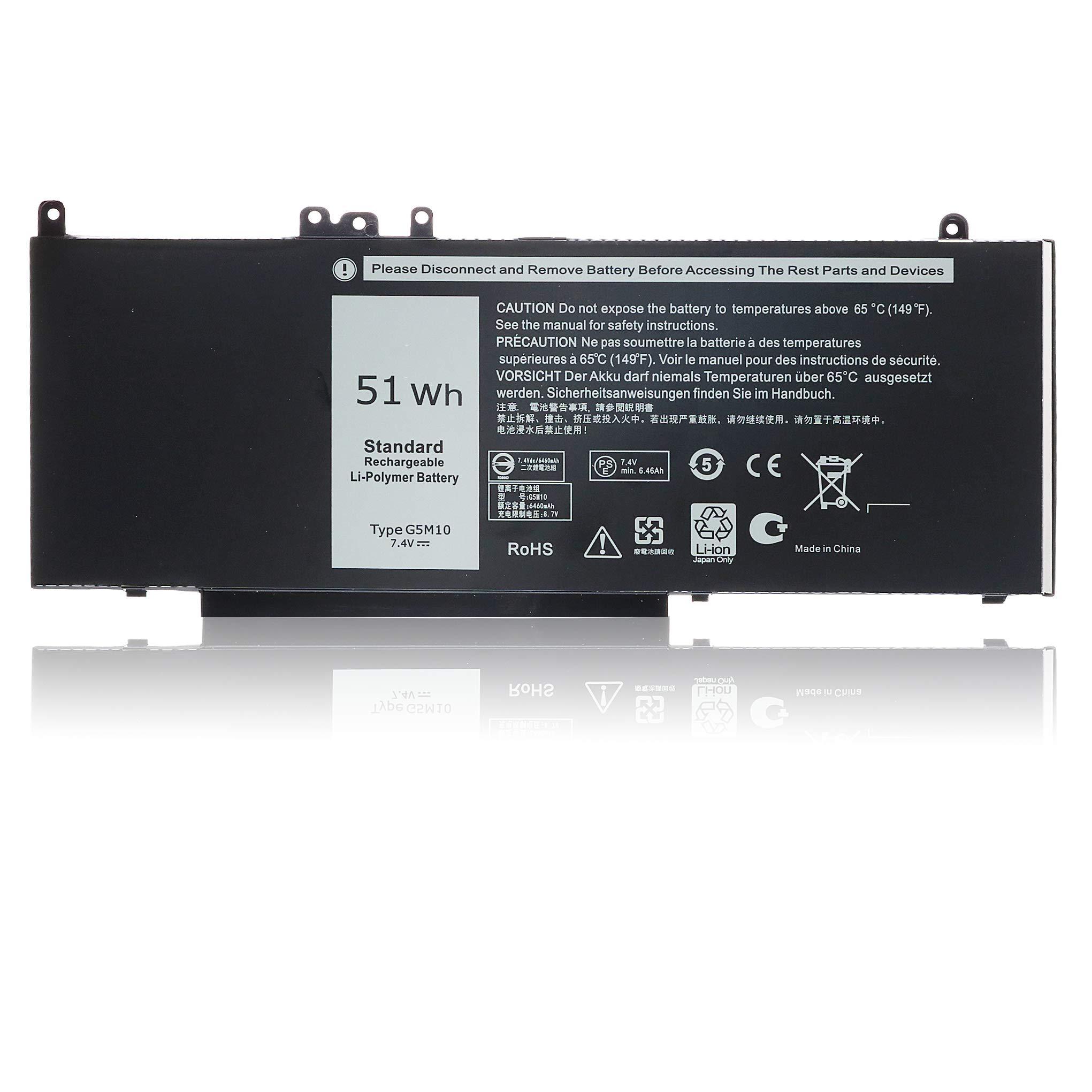 Bateria G5M10 para Dell Latitude E5450 E5550 E5570 Type 7V69Y 6MT4T 8V5GX 79VRK TXF9M WYJC2 0WYJC2 08V5GX -