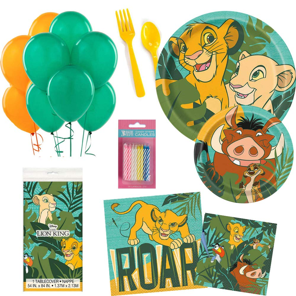 BirthdayExpress Lion King Party Supplies 9oz Paper Cup for 16