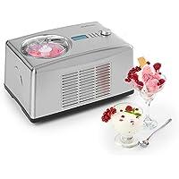 Klarstein Yo & Yummy 2-in-1 Eiscremebereiter & Yoghurt Maker • Eiscremebereiter • Joghurtmaschine • Softeismaschine • Timer • Restarbeitszeitanzeige • 150W • 1,5l • Edelstahl • Silber