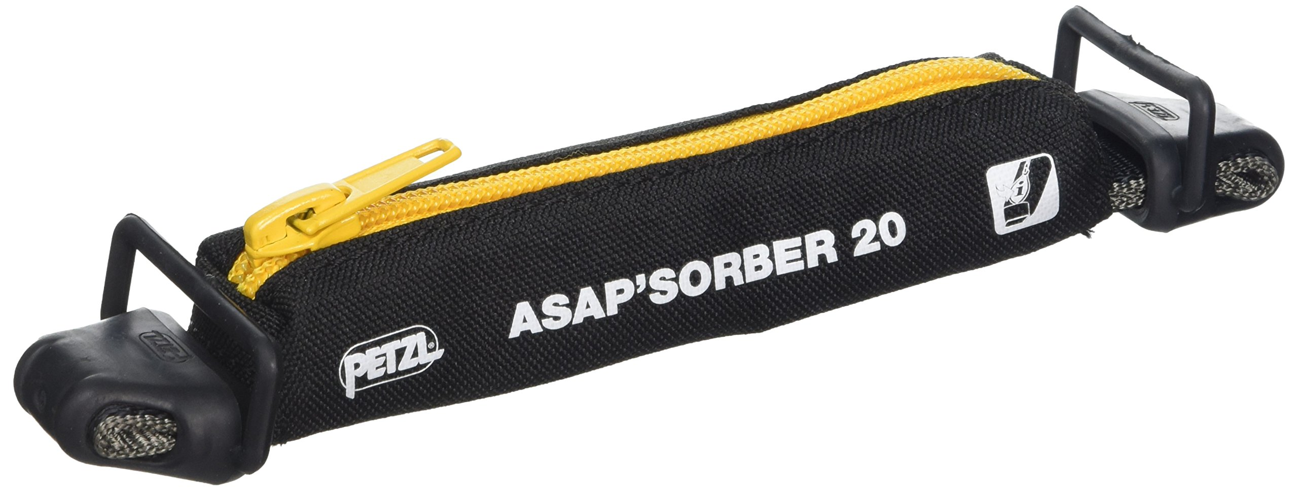 PETZL - ASAP'SORBER, Lanyard with Energy Absorber, 20 cm by PETZL