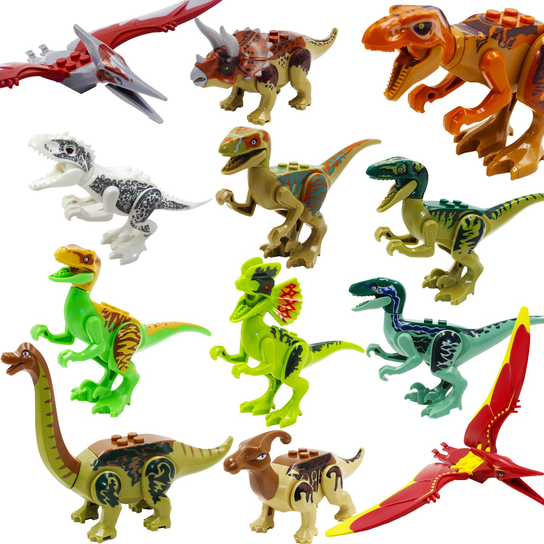 Jurassic World, ShineMehr Dinosaurier Figur Spielzeug, Dinosaurier Spielset (12 Pcs Dinosaurs Figures) ShineMore