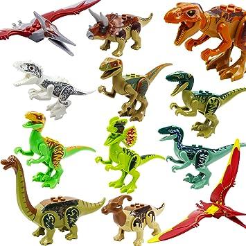 Jurassic World, ShineMore Juguetes de figuras de dinosaurios ...