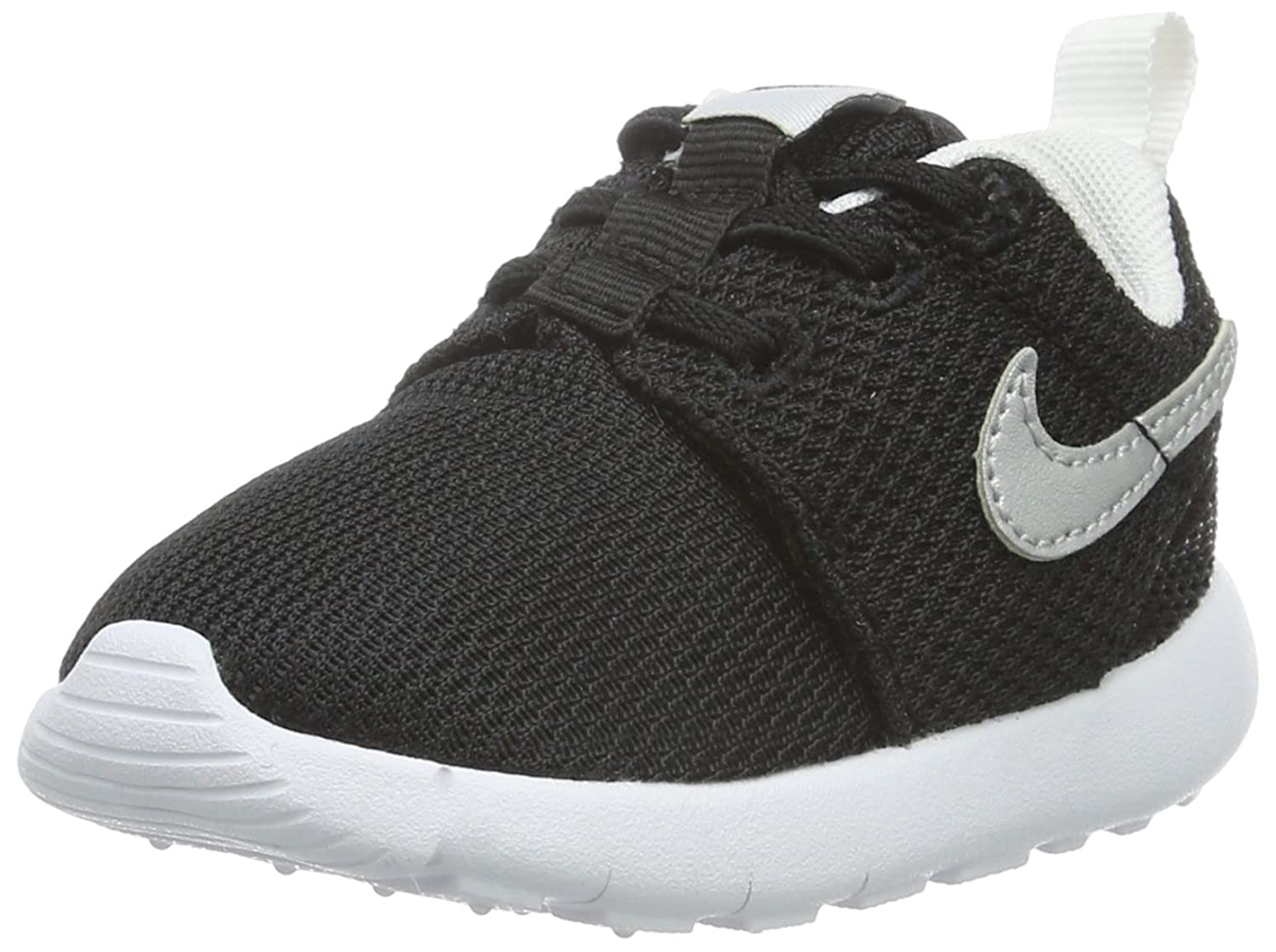 Nike Roshe One TDV Scarpe Walking Baby Bambino Nero Black/Metallic