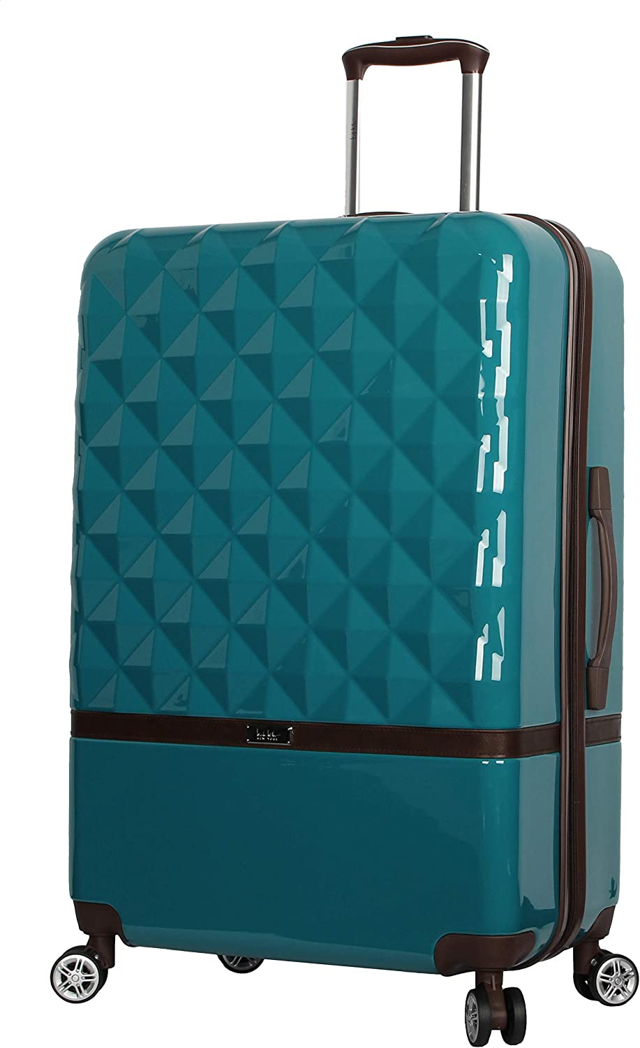 Nicole Miller New York Madison Collection Hardside 24 Luggage Spinner